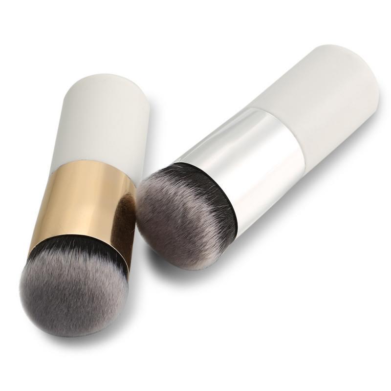 short handle round head foundation brush
