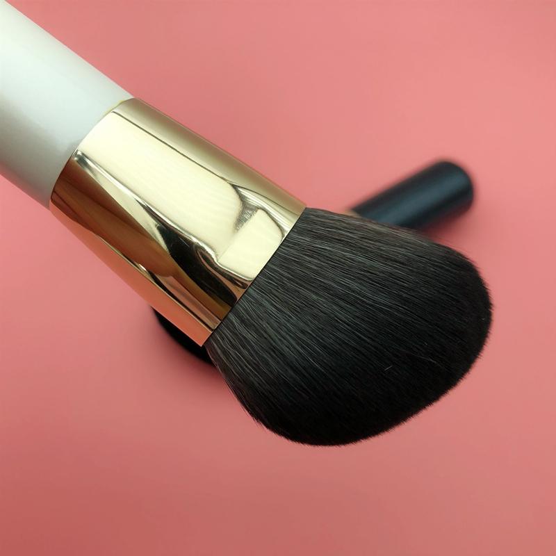 vegan hair mini contour brush
